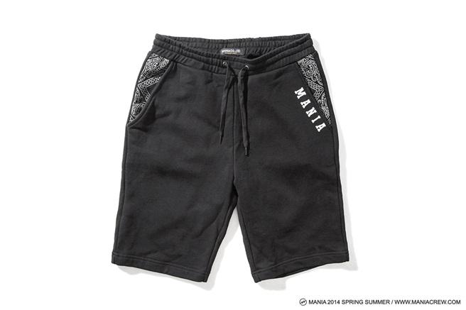 MANIA Paisley Shorts-01