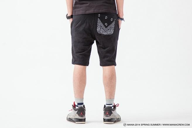 MANIA Paisley Shorts-07