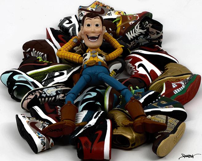 Santlov-x-NiceKicks-Toys-Are-Like-Us-Sneaker-Series-woody-sneaker-bed