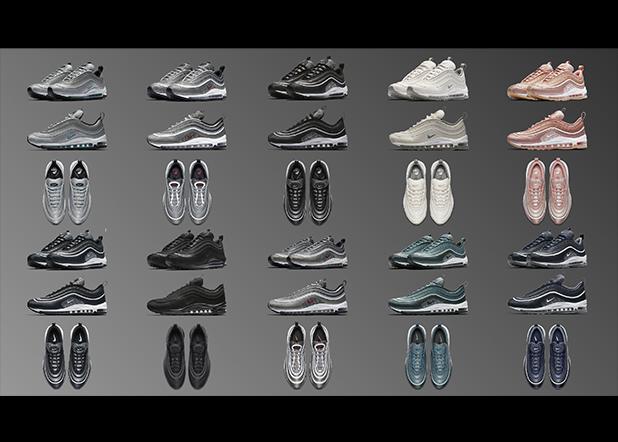 球鞋贩售预告 AIR MAX 97 推出秋季全新配色!决定好要哪一双了吗