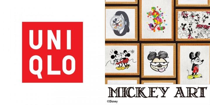 mix_uniqlo Mickey Art