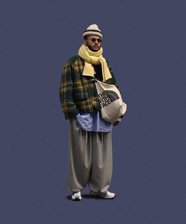 短夾克、長版襯衫和寬褲的露出比例接近 3:2:5