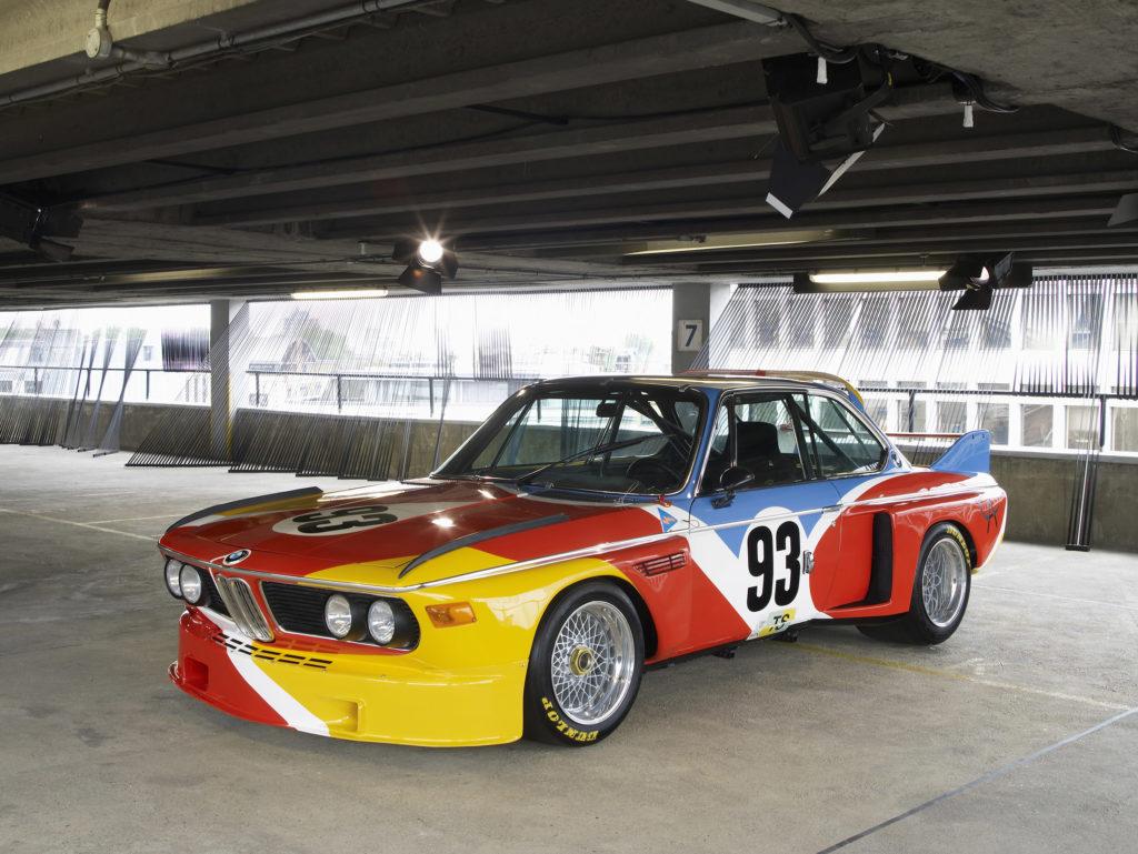 1975 BMW Art Car by Alexander Calder