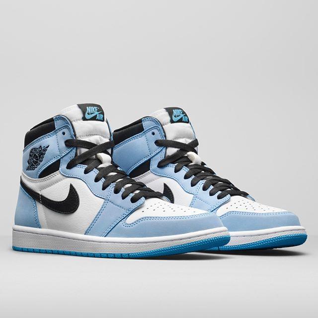 """Air Jordan 1 """"University Blue"""""""