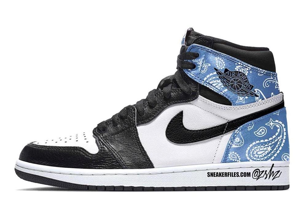 """Air Jordan 1 High """"Paisley"""""""