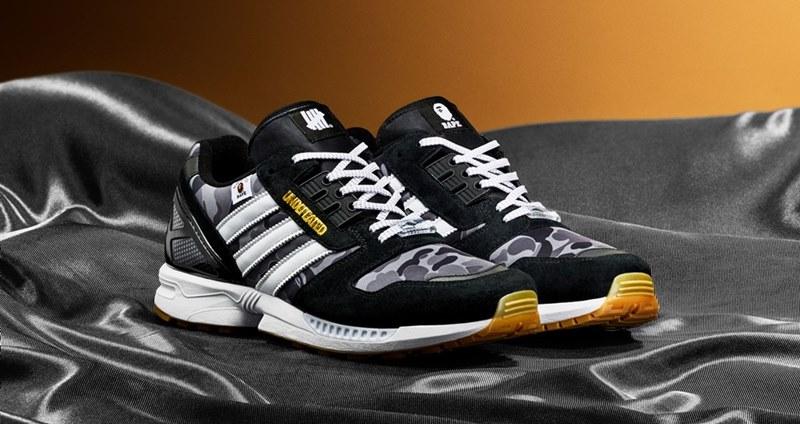 adidas Originals ZX 8000 × BAPE × UNDEFEATED