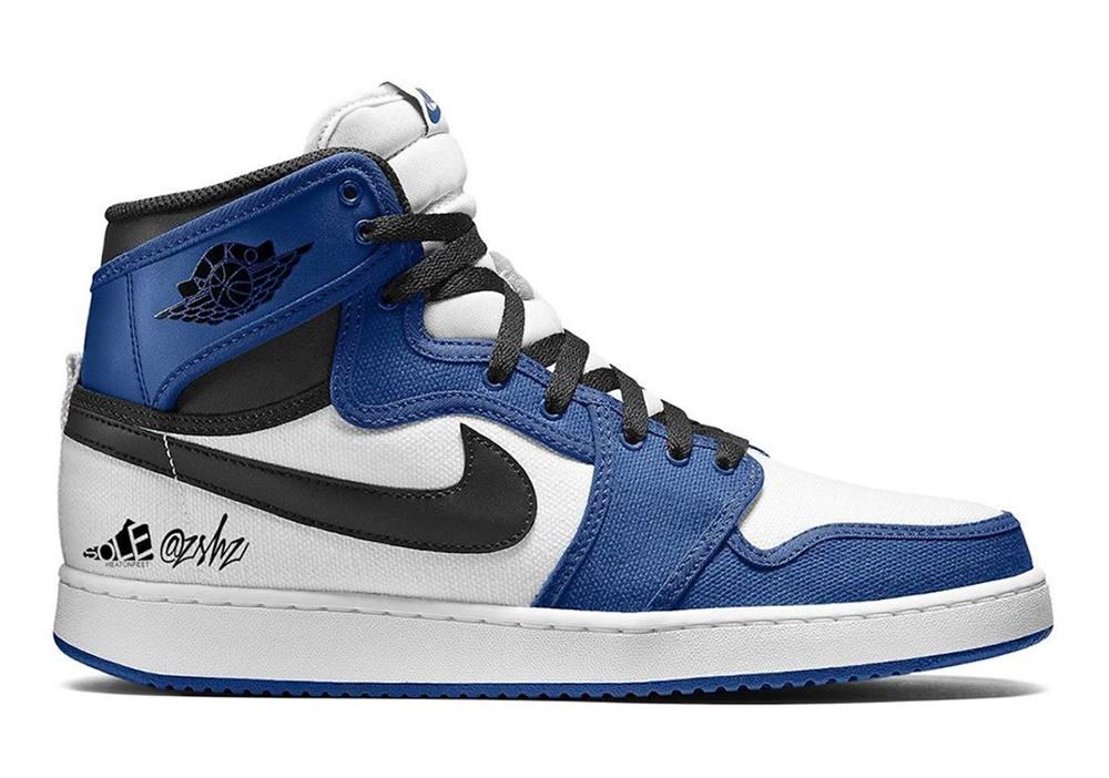"Air Jordan 1 AJKO ""Storm Blue"""