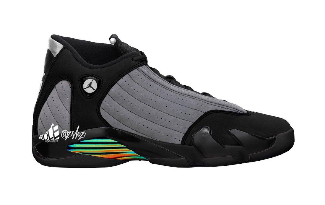 """Air Jordan 14 """"Black/Particle Grey"""""""