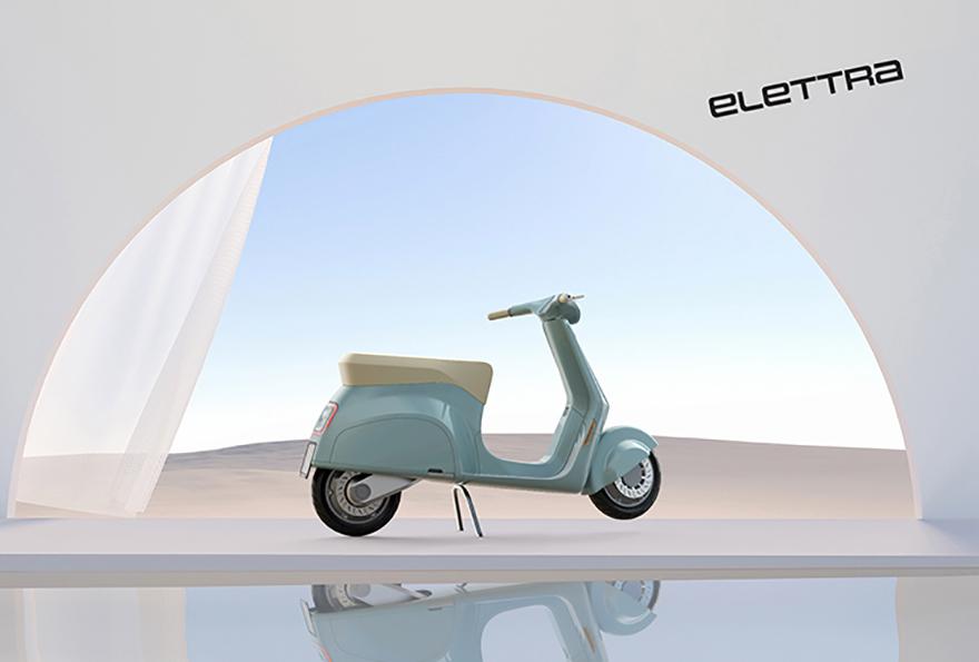 Vespa Elettra Concept