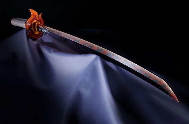 大哥沒有輸!1:1比例「煉獄杏壽郎」日輪刀原生配音、「炎」全收錄  ETtoday3C家電新聞  ETtoday新聞雲