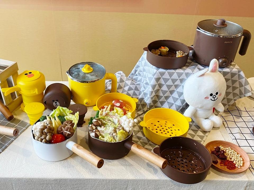 九陽 x LINE FRIENDS 廚電聯名共有 5 款限定商品