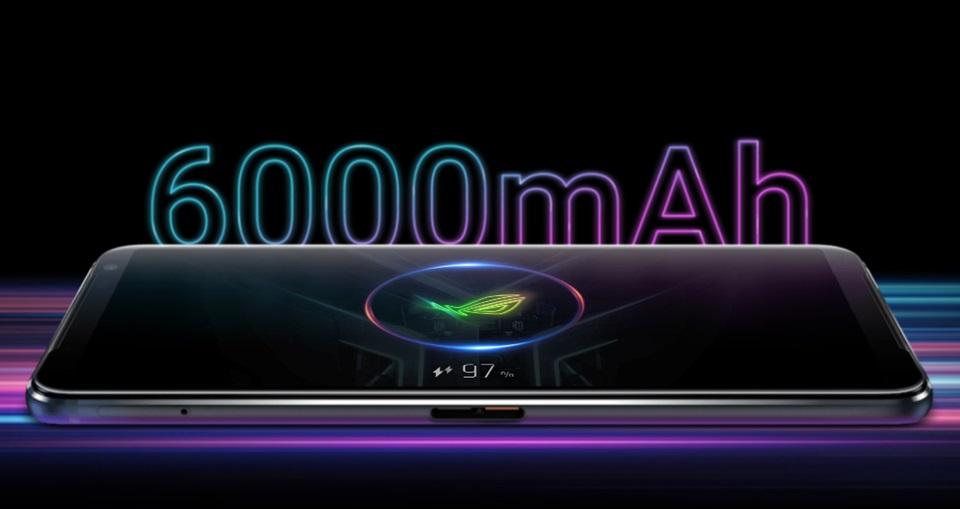 據傳ROG Phone 5將內建 6000mAh 大容量電池、支持 65W 快速充電