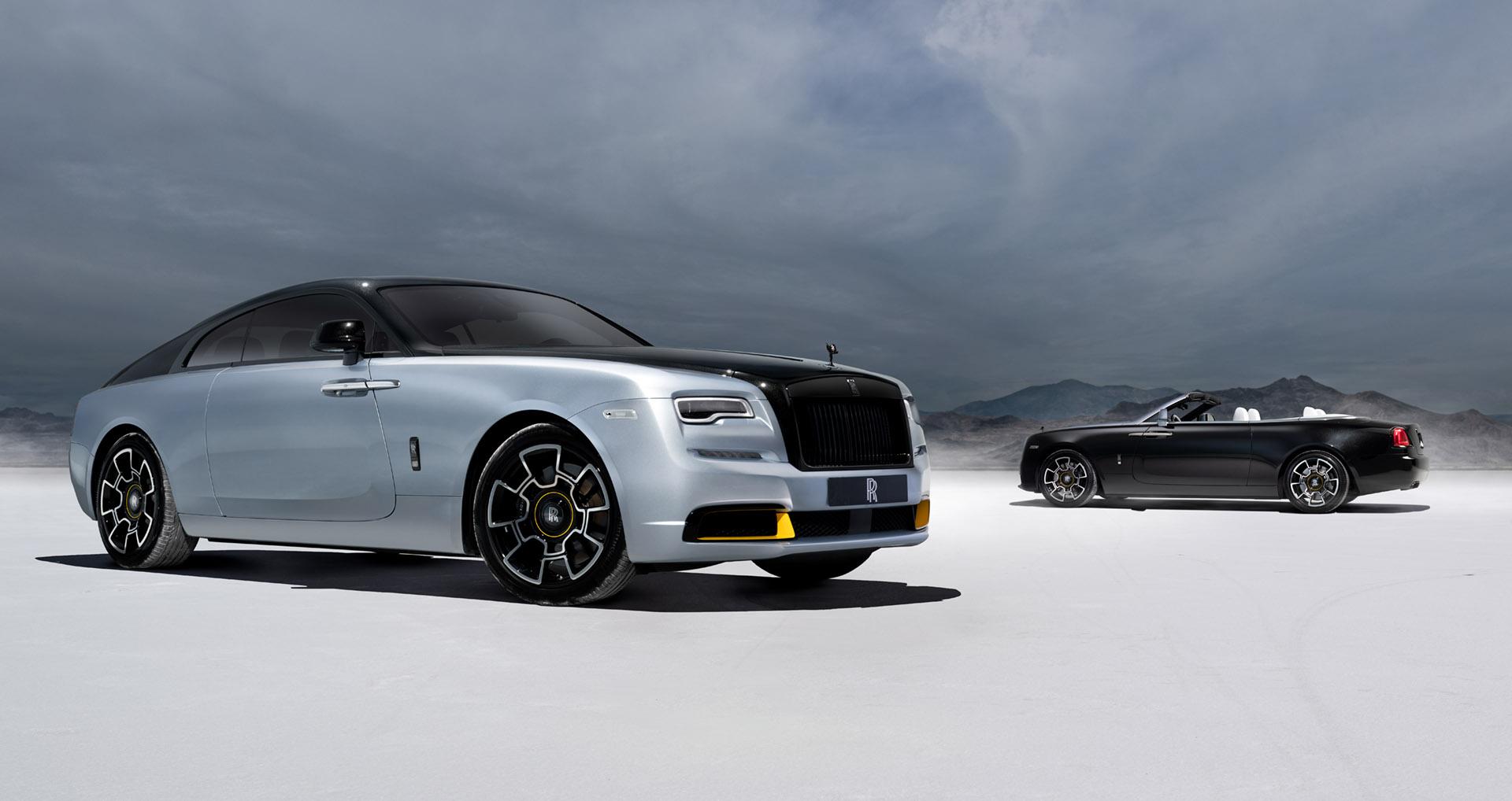 Rolls-Royce Dawn Black Badge Landspeed Collection